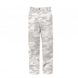 Kalhoty BDU WHITE CAMO