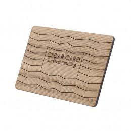 Podpalovač CEDAR CARD dřevo