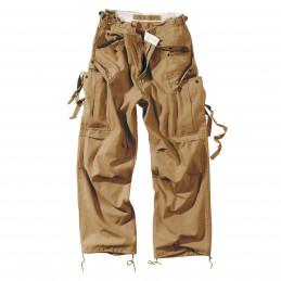 Kalhoty VINTAGE FATIGUE BEIGE