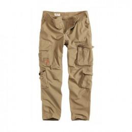 Kalhoty AIRBORNE SLIMMY BEIGE/KHAKI