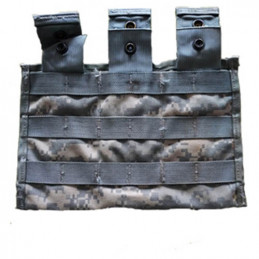 Sumka MOLLE II pro zásobníky 3x M4 ACU DIGITAL poškozená