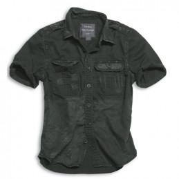 Košile RAW VINTAGE s krátkým rukávem ČERNÁ