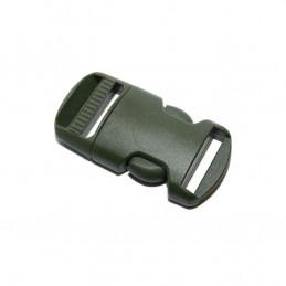 Spona/přezka plastová kompletní 16 mm ZELENÁ