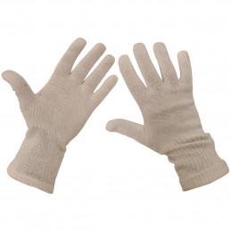 Rukavice prstové AČR pletené bílé použité