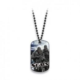 Známka identifikační SEALS s řetízkem