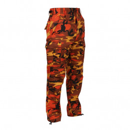 Kalhoty BDU ORANGE CAMO