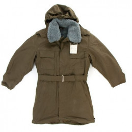 Kabát vz.85 včetně kapuce a límce