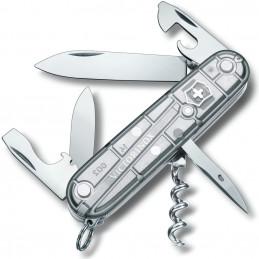 Nůž kapesní SPARTAN 91mm STŘÍBRNÝ transparentní