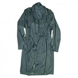 Kabát švýcarský do deště ŠEDOZELENÝ použitý