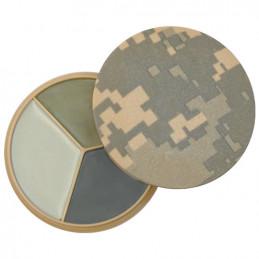 Barvy maskovací DISK 3 barvy se zrcátkem ACU DIGITAL