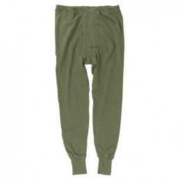 Spodky BW zimní kalhoty PLUSCH ZELENÉ použité