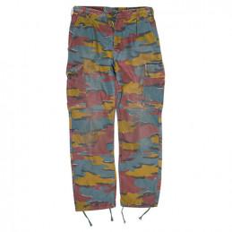 Kalhoty BELGICKÉ M90 Jigsaw použité (pas do 78cm)