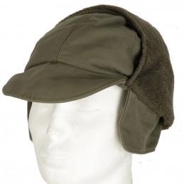 Čepice BW zimní s kšiltem ZELENÁ použitá