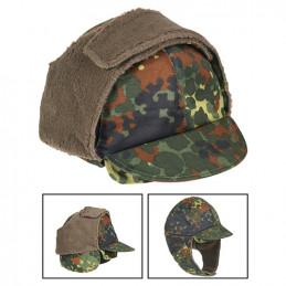 Čepice BW zimní s kšiltem FLECKTARN použitá