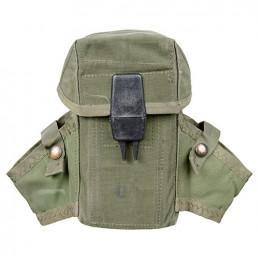 Sumka US M16/LC2 na 3 zásobníky ZELENÁ použitá
