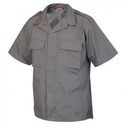 Košile služební krátký rukáv rip-stop TMAVĚ ŠEDÁ