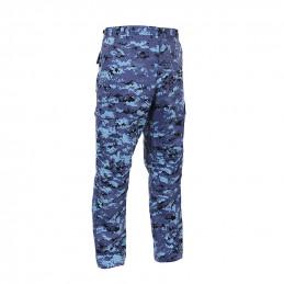 Kalhoty BDU SKY BLUE CAMO DIGITAL