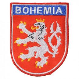 Nášivka ČESKÝ LEV + BOHEMIA - BAREVNÝ