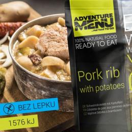 Vepřové žebírko s bramborem - ADM sterilizované hotové jídlo