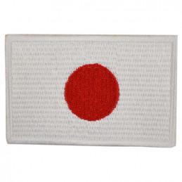 Nášivka vlajka JAPONSKÁ - BAREVNÁ