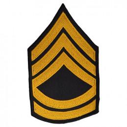 Nášivka US hodnost SERGEANT FIRST CLASS - ZLATÁ