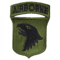 Nášivka 101st AIRBORNE DIVISION - ZELENÁ