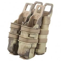 Pouzdro na zásobník + pistol plastové FAST 3.gen. A-TACS AU