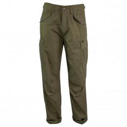 Kalhoty M65 MILITARY STYLE rip-stop ZELENÉ