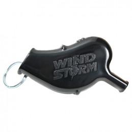 Píšťalka WINDSTORM™ plastová ČERNÁ