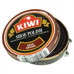 Krém na boty KIWI 50 ml HNĚDÝ