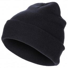 Čepice jemně pletená Acryl MODRÁ