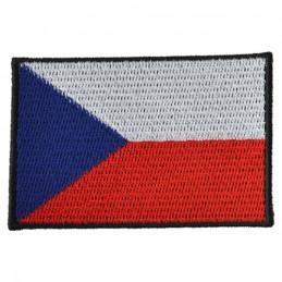 Nášivka ČR vlajka BAREVNÁ (80mm)