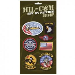 Nášivky USAF sada 7 kusů