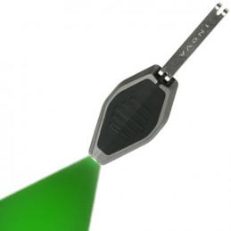 Svítilna MICRO/klíčenka černá LED ZELENÁ