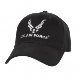 Čepice U.S. AIR FORCE baseball ČERNÁ