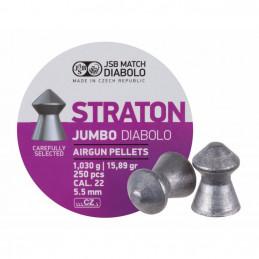 Diabolky JSB JUMBO STRATON 5,5 mm 250 ks