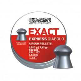 Diabolky JSB EXACT EXPRESS 4,52 mm 500 ks