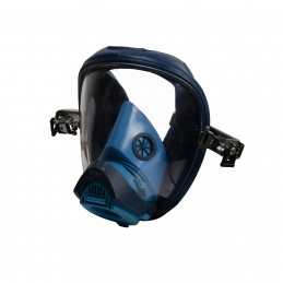 Maska plynová modrá Dräger FUTURA s uchycením pro helmu použitá