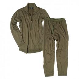 Komplet funkční spodky a triko ECWCS LEVEL 2 ZELENÉ