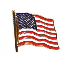 Odznak vlajka USA velká