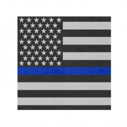 Šátek vlajka USA 55 x 55 cm MODRÁ LINKA