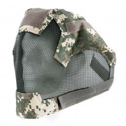 Maska celoobličejová ochranná AIRSOFT polstrovaná ACU DIGITAL