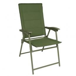 Židle ARMY skládací ZELENÁ