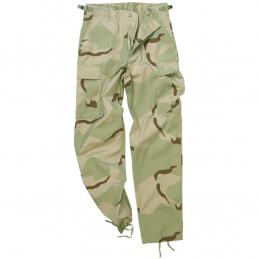 Kalhoty US BDU POLY polní 3-COL DESERT