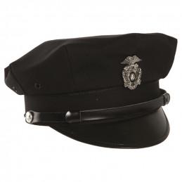 Čepice US POLICIE ČERNÁ