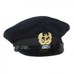 Čepice MARINE s odznakem TMAVĚ MODRÁ