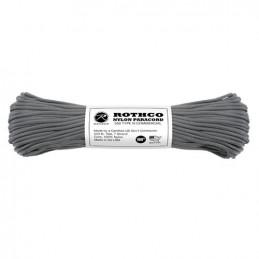 Šňůra PARACORD nylon 550LB 30m 4mm ŠEDÁ