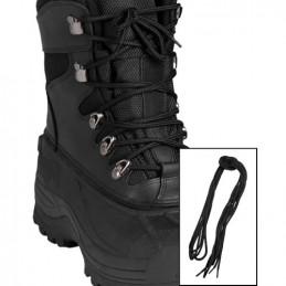 Tkaničky do bot 220cm ČERNÉ