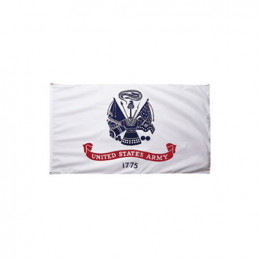 Vlajka US ARMY 1775 BÍLÁ