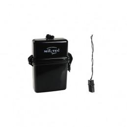 Krabička vodotěsná na krk 25x70x110 mm ČERNÁ